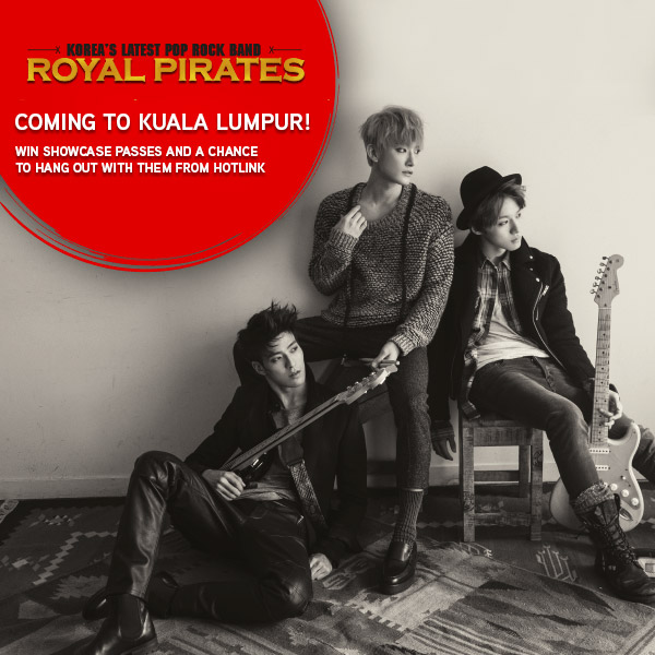 Royal Pirates' Korea's Latest Pop Rock Band