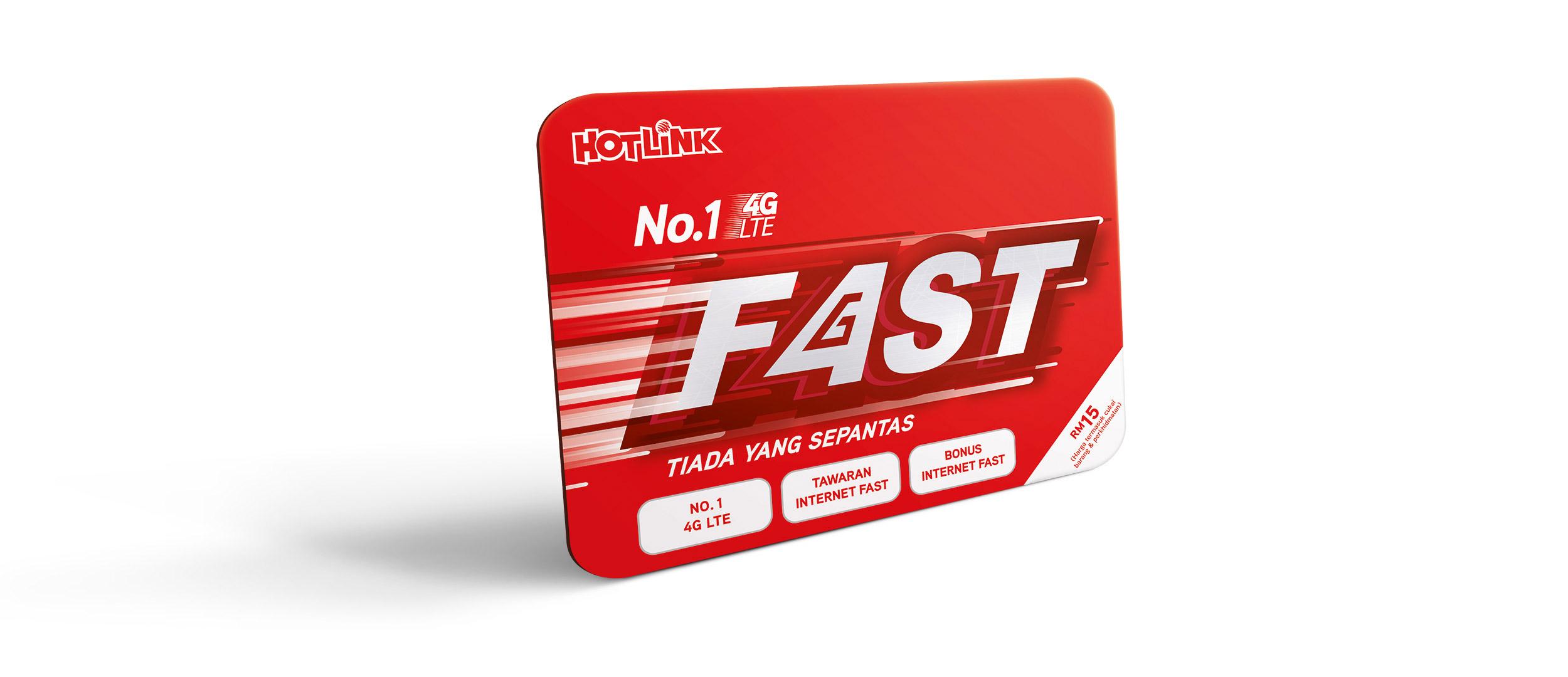 Hotlink No.1 4G LTE FAST