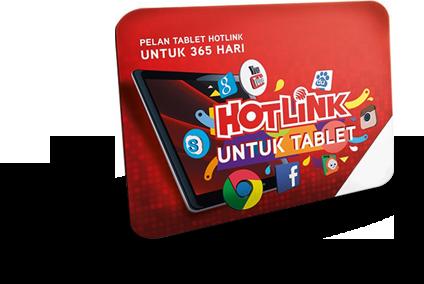 Hotlink Tablet Plan SIM pack