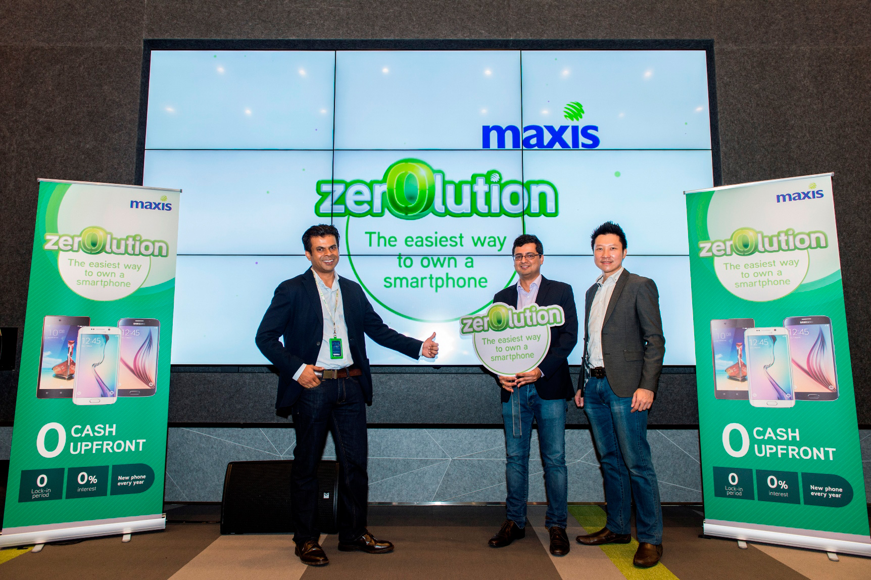Maxis Zerolution Launch Event